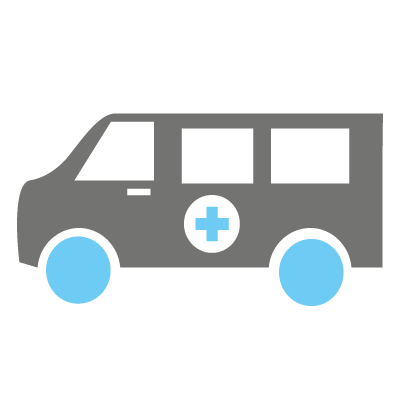 Ziekenvervoer liggend vervoer dienst antwerpen